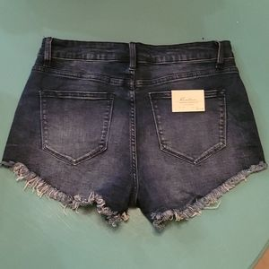 KanCan Cutoff Jean Shorts High Waisted